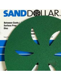 Norton Sand Dollar Surface-Prep Discs  407mm Green Very Fine - Pack of 4 (6626119411743)