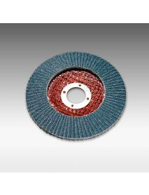 SIA 2824 Zirconia Angled Flap Disc (Fibre Glassed Backed) 180mm x 22mm - Pack of 10 (T4796)