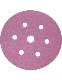 SIA 1950 siaspeed siafast Aluminium Oxide + Ceramic  Discs 150mm 7 Holes  - Pack of 100