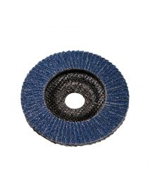 SIA 2822 Economy Zirconia Angled Flap Disc (Fibre Glassed Backed) 115mm x 22mm - Pack of 10 (T2300)