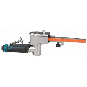 Dynabrade 40352 Dynafile® II Abrasive Belt Tool .4 hp, 7 Degree Offset, 25,000 RPM, Front Exhaust, for 1/8