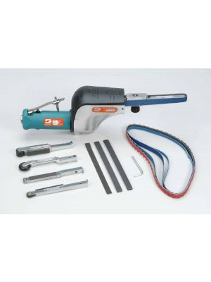 Dynabrade 14010 Dynafile® Abrasive Belt Tool Versatility Kit .5 hp, Straight-Line, 20,000 RPM, Front Exhaust, for 1/8