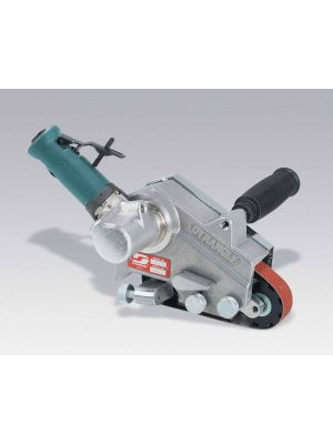 Dynabrade 14200 Dynangle® Abrasive Belt Tool .7 hp, 7 Degree Offset, 20,000 RPM, Rear Exhaust, for 1