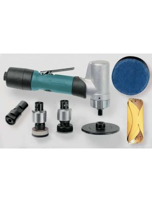 Dynabrade 51415 7 Degree Offset Mini-Dynorbital® Random Orbital Sander Versatility Kit .4 hp, 3,200 RPM, 3/16