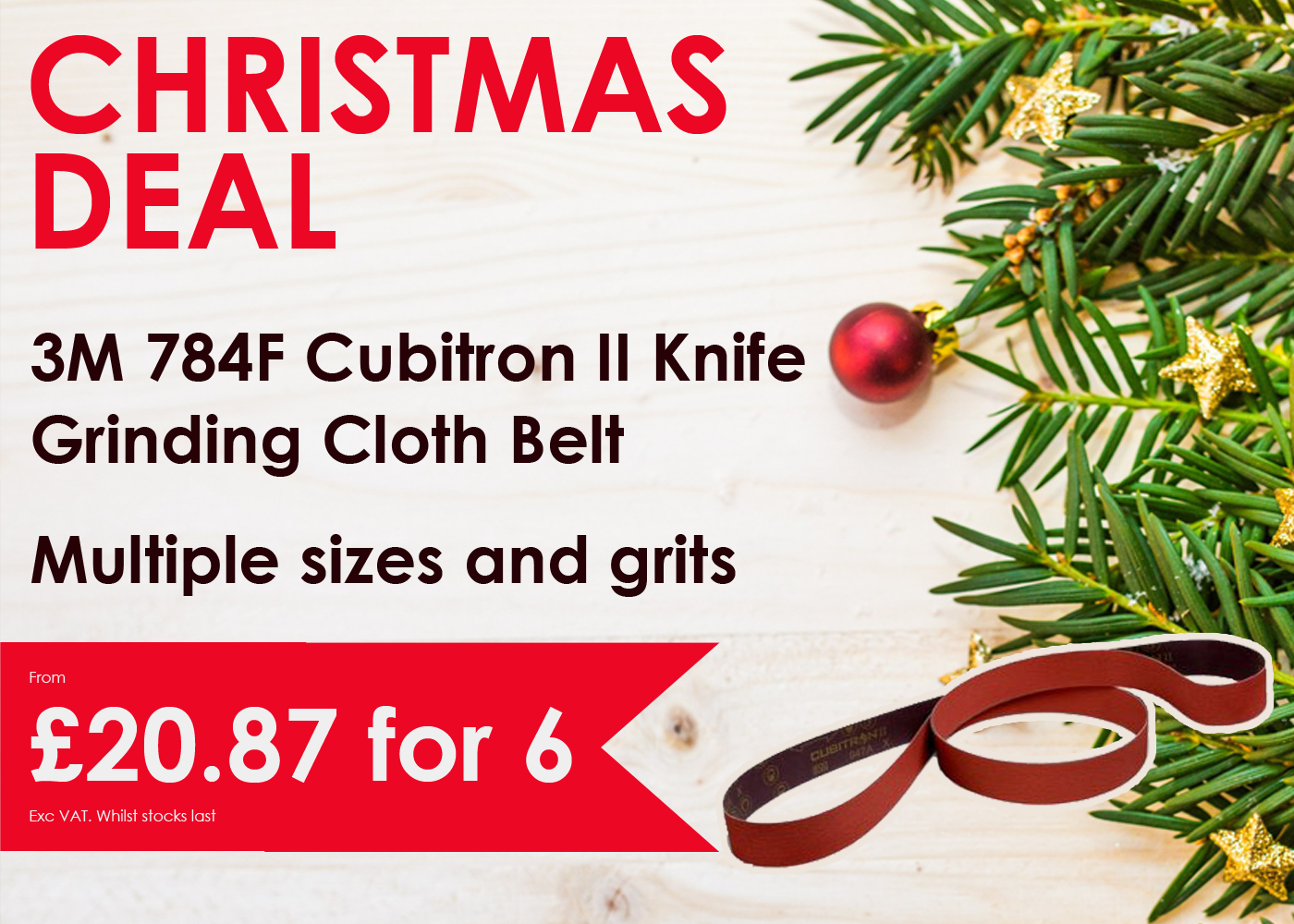 Christmas 784F Knife Belts